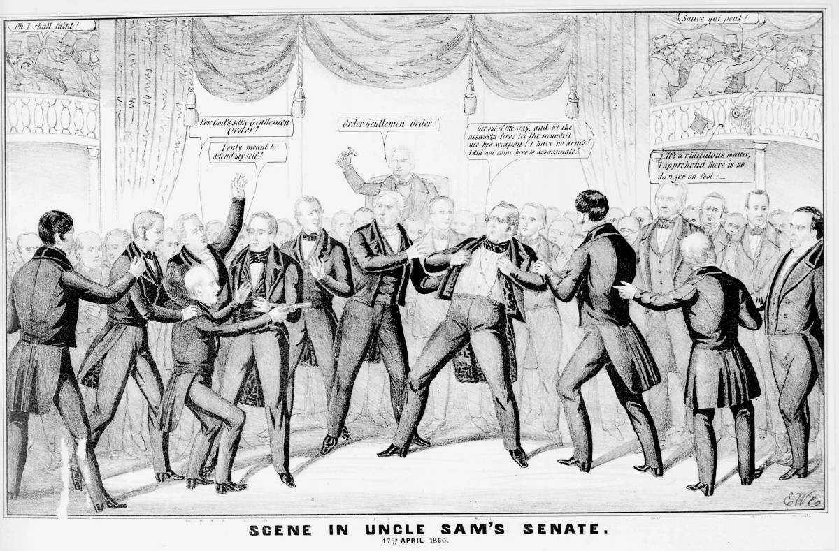 Go Back gt Pix For gt Compromise Of 1850 Political Cartoon
