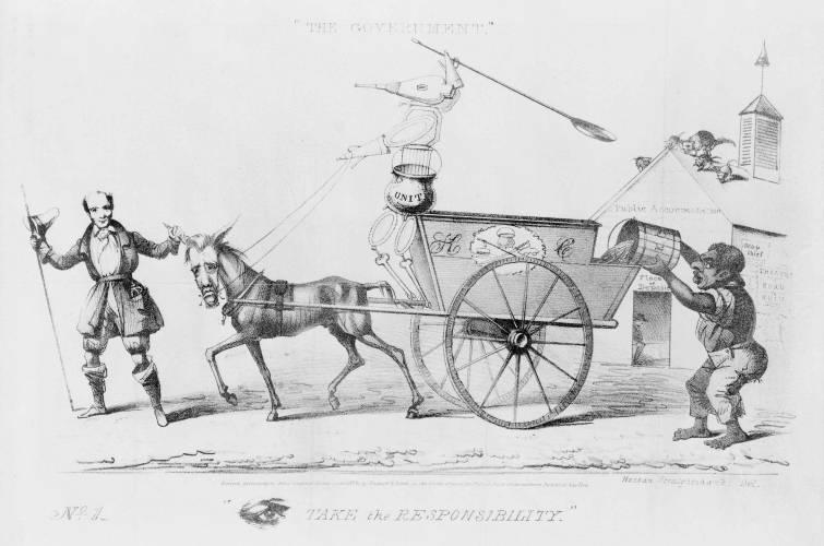 HarpWeek | American Political Prints 1766-1876 | Medium Image